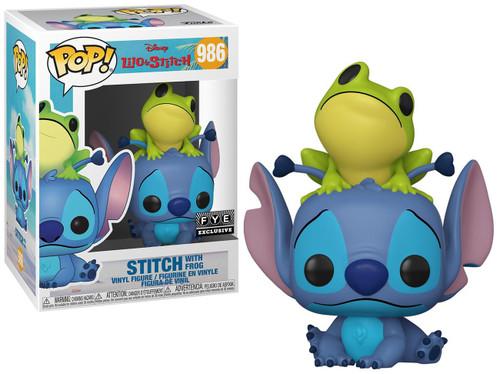 Funko Lilo & Stitch POP! Disney Stitch Exclusive Vinyl Figure #986 [with Frog]