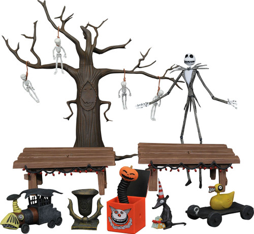 Nightmare Before Christmas Jack Skellington Exclusive Deluxe Action Figure Boxed Set [SDCC 2021] (Pre-Order ships September)