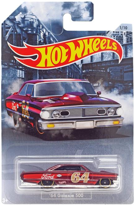 Hot Wheels American Steel '64 Galaxie 500 Diecast Car #1/10