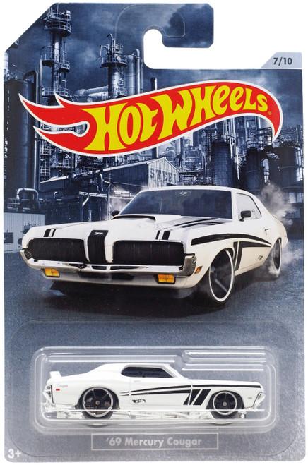 Hot Wheels American Steel '69 Mercury Cougar Diecast Car #7/10