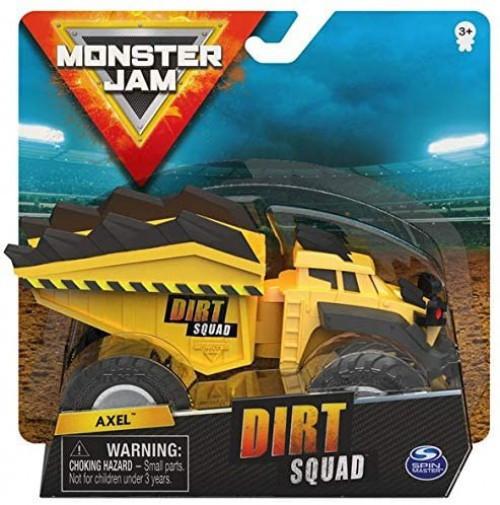 Monster Jam Dirt Squad Axel Diecast Car