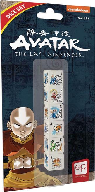 Avatar the Last Airbender Dice Set