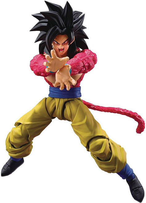 Dragon Ball GT S.H. Figuarts Super Saiyan 4 Son Goku Action Figure (Pre-Order ships September)