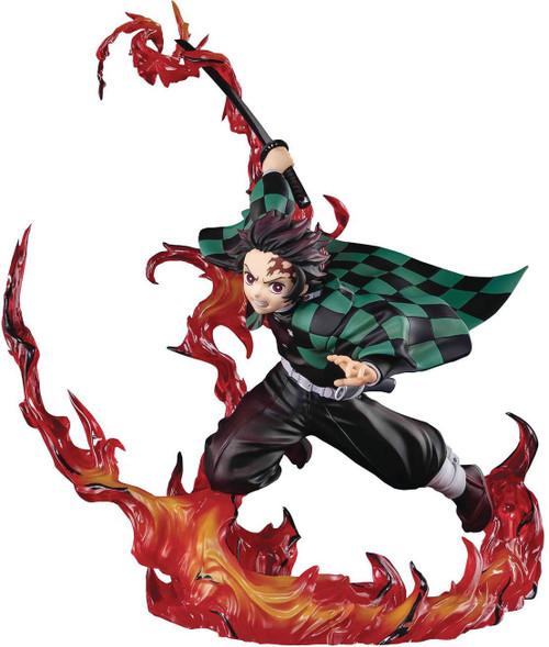 Demon Slayer: Kimetsu no Yaiba Figuarts Zero Tanjiro Kamado 8.3-Inch Statue [Total Concentration] (Pre-Order ships October)