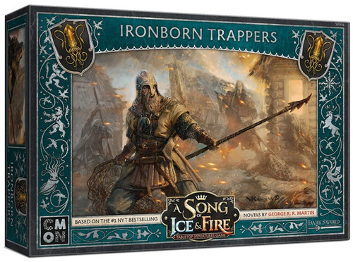A Song of Ice & Fire Greyjoy Ironborn Trappers Unit Box