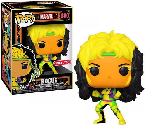 Funko X-Men POP! Marvel Rogue Exclusive Vinyl Bobble Head #800 [Blacklight]