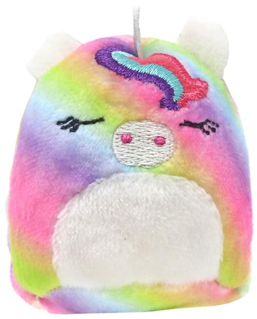 Squishmallows Squishville! Rainbow Dream Squad Rainbow Unicorn 2-Inch Mini Plush