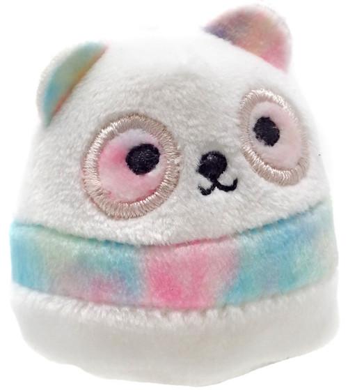 Squishmallows Squishville! Rainbow Dream Squad Pastel Panda 2-Inch Mini Plush