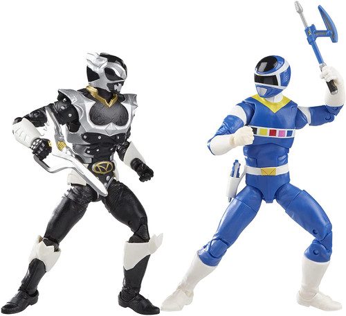 Power Rangers In Space Lightning Collection Blue Ranger vs. Psycho Silver Action Figure 2-Pack (Pre-Order ships November)