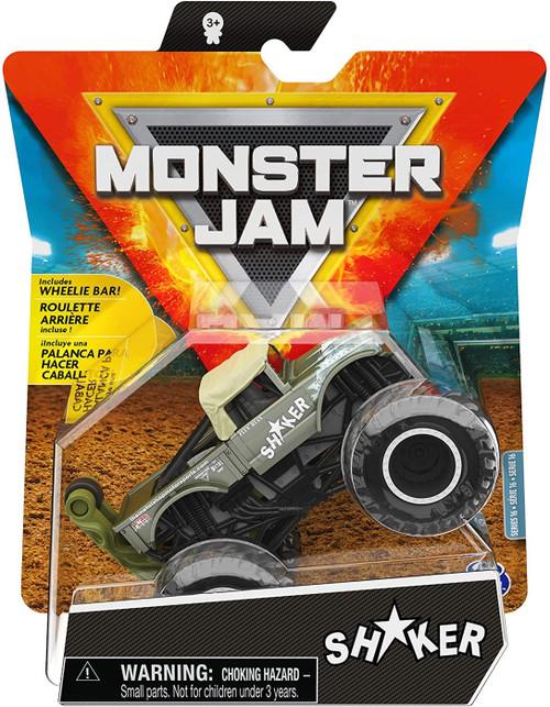 Monster Jam Series 16 Shaker Diecast Car