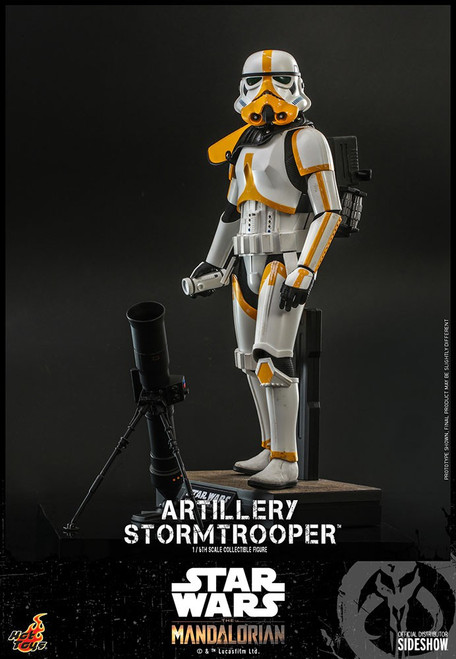 Star Wars The Mandalorian Artillery Stormtrooper Collectible Figure (Pre-Order ships June 2022)