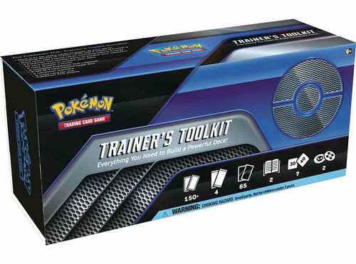 Pokemon Trading Card Game 2021 Trainer's Toolkit Box Set [4 Booster Packs, 65 Card Sleeves & More]