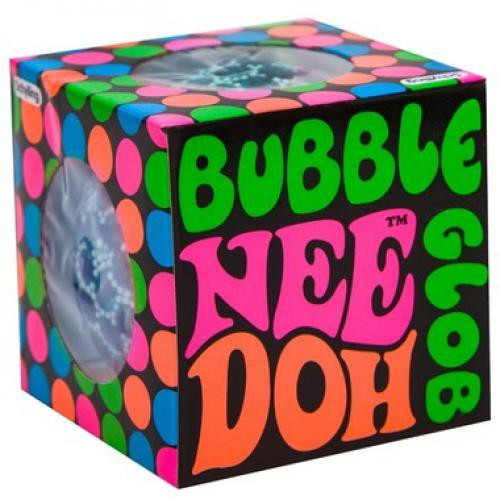 NeeDoh The Groovy Glob Bubble Small Stress Ball [1 RANDOM Color] (Pre-Order ships September)