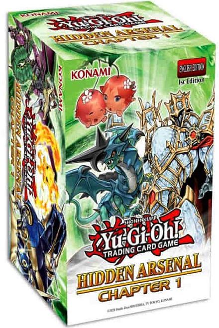 YuGiOh Trading Card Game Hidden Arsenal: Chapter 1 BLASTER Box (Pre-Order ships December)
