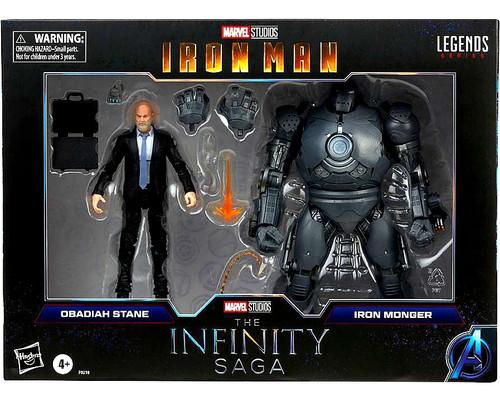 Iron Man Marvel Legends Obadiah Stane & Iron Monger Action Figure 2-Pack [The Infinity Saga] (Pre-Order ships September)