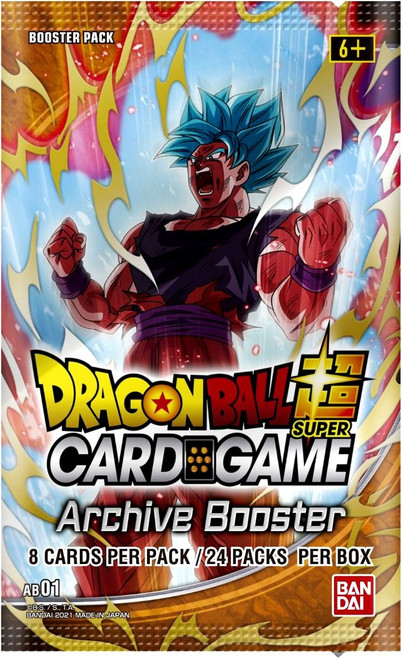 Dragon Ball Super Trading Card Game Archive Mythic Booster Pack MB-01 [8 Cards] (Pre-Order ships November)