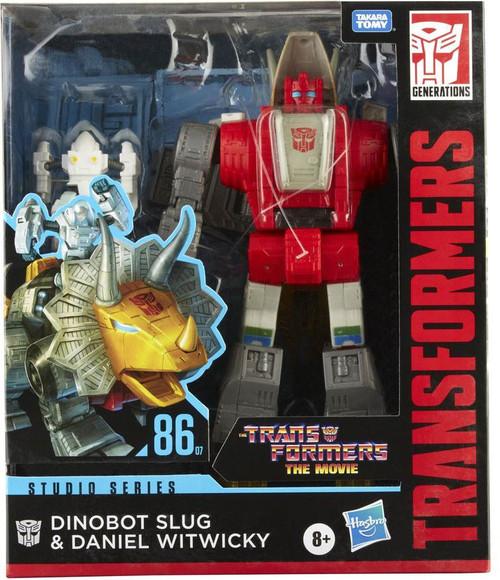 Transformers Generations Studio Series 1986 Dinobot Slug & Daniel Witwicky Leader Action Figure [The Movie] (Pre-Order ships August)