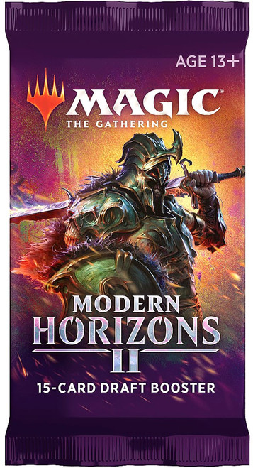 MtG Trading Card Game Modern Horizons 2 DRAFT Booster Pack [15 Cards]