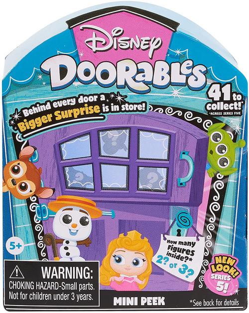 Disney Doorables Series 5 MINI Peek Mystery Pack [2 or 3 Figures]