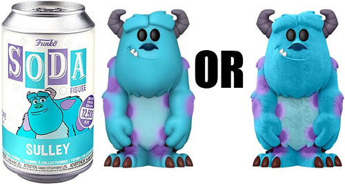 Funko Monsters Inc. Vinyl Soda Sulley Limited Edition of 12,500! Vinyl Figure [1 RANDOM Figure, Look For The Chase!] (Pre-Order ships October)