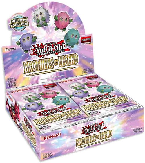 YuGiOh Trading Card Game 2021 Battles of Legend Booster Box [24 Packs] (Pre-Order ships October)