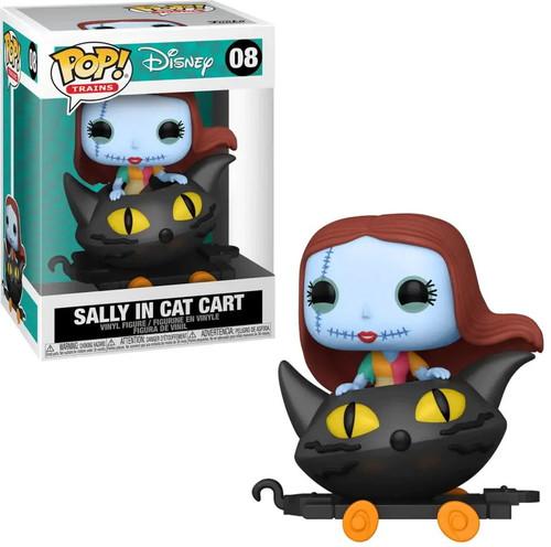Funko Disney Nightmare Before Christmas POP! Train Sally in Cat Cart Vinyl Figure (Pre-Order ships October)