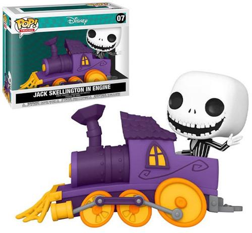 Funko Disney Nightmare Before Christmas POP! Deluxe Jack in Train Engine Train (Pre-Order ships October)