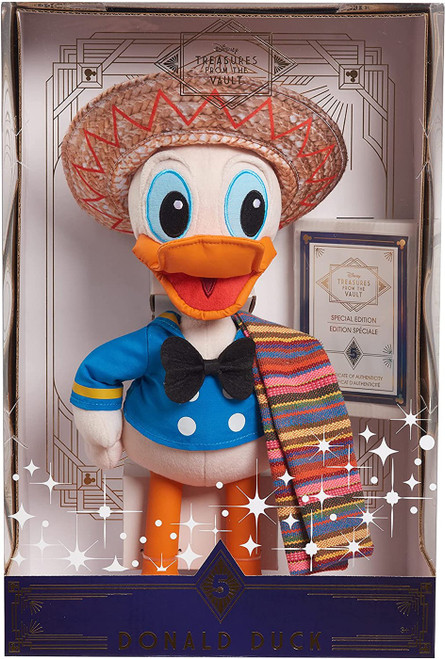 Disney Treasures from the Vault Donald Duck Exclusive 14-Inch Plush