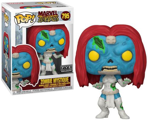 Funko Marvel Zombies POP! Marvel Zombie Mystique Exclusive Vinyl Figure #795