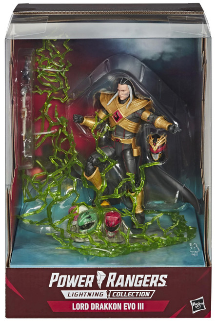 Power Rangers Mighty Morphin Lightning Collection Lord Drakkon EVO III Exclusive Action Figure