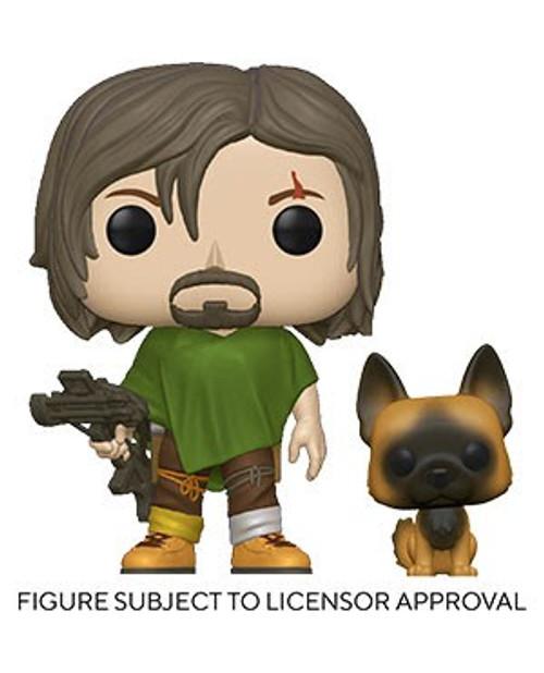 Funko The Walking Dead POP! TV Daryl Vinyl Figure [with Dog] (Pre-Order ships November)