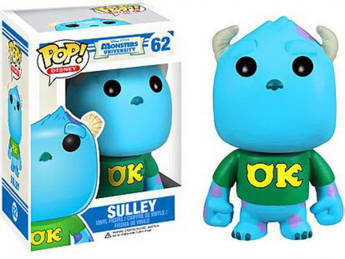 Funko Disney / Pixar Monsters University POP! Disney Sulley Vinyl Figure #62 [Monsters University, Damaged Package]