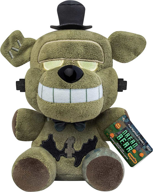 Funko Five Nights at Freddy's Curse of Dreadbear Dreadbear Plush [Franken Freddy] (Pre-Order ships January)