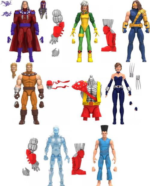 X-Men Marvel Legends Age of Apocalypse Colossus Series Set of 7 Action Figures (Pre-Order ships September)