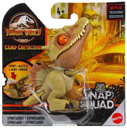 Jurassic World Camp Cretaceous Snap Squad Spinosaurus Mini Figure [Light Green, Version 2]