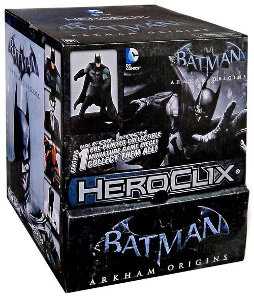 DC HeroClix Batman Arkham Origins Booster Box [24 Packs]