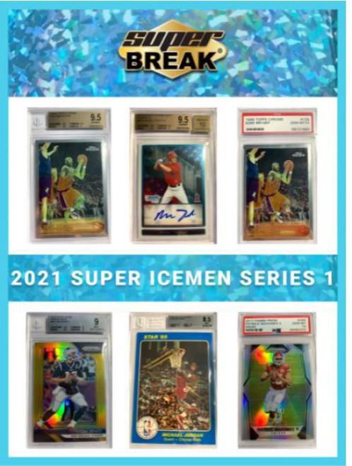 Sports 2021 Super Icemen Series 1 Trading Card Box [1-2 Premium BuyBack Cards Per Box] (Pre-Order ships October)