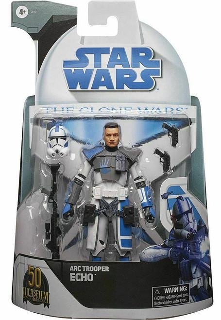 Star Wars The Clone Wars Black Series Arc Trooper Echo Action Figure