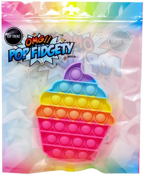 OMG!! Pop Fidgety Cupcake Fidget Toy [RANDOM Colors]