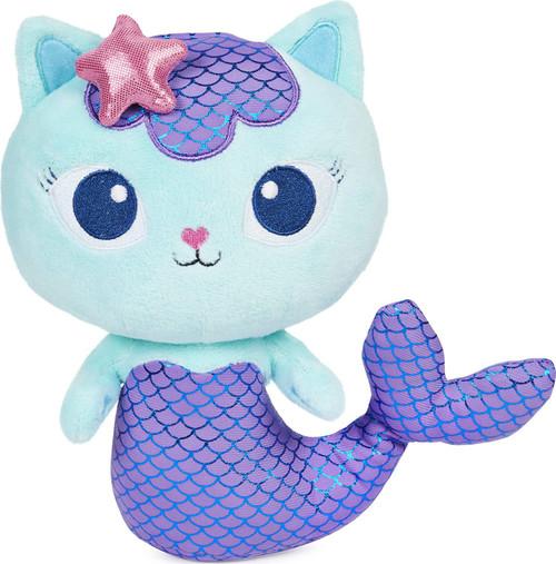 Gabby's Dollhouse Mercat 8-Inch Purr-ific Plush
