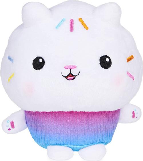 Gabby's Dollhouse Cakey Cat 7-Inch Purr-ific Plush