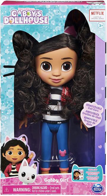 Gabby's Dollhouse Gabby Girl 7-Inch Plush Doll