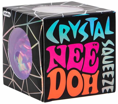NeeDoh The Groovy Glob Crystal PURPLE 2.5-Inch Small Stress Ball