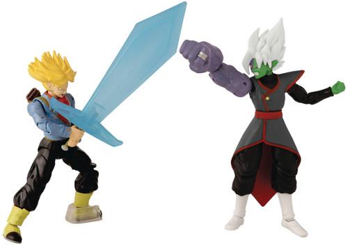 Dragon Ball Super Dragon Stars Future Trunks vs. Fusion Zamasu Action Figure 2-Pack