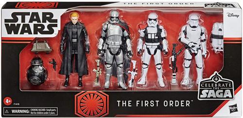 Star Wars Celebrate the Saga The First Order Action Figure 5-Pack [Flametrooper, Captain Phasma, General Hux & First Order Trooper Officer]