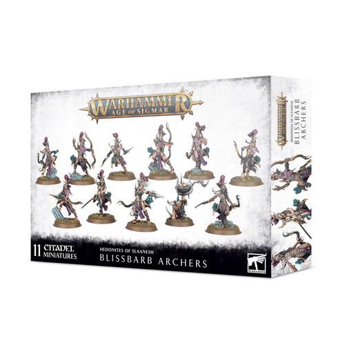 Warhammer Age of Sigmar Hedonites of Slaanesh Blissbarb Archers