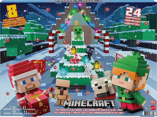 Minecraft 2021 Advent Calendar Set (Pre-Order ships August)