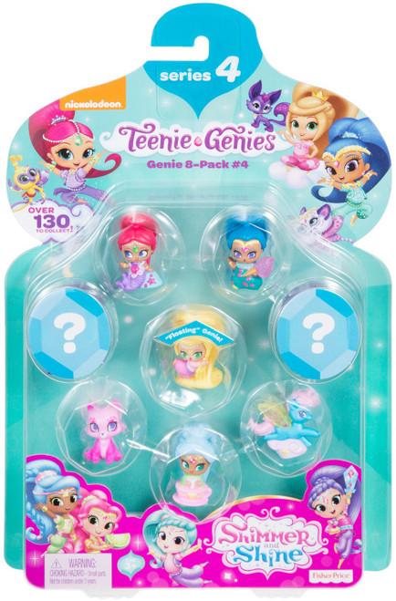 Fisher Price Shimmer & Shine Series 4 Teenie Genies Mini Figure 8-Pack [#4]