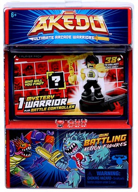 Akedo Ultimate Arcade Warriors Series 1 Mini Battling Action Figure MYSTERY Pack [1 RANDOM Figure]