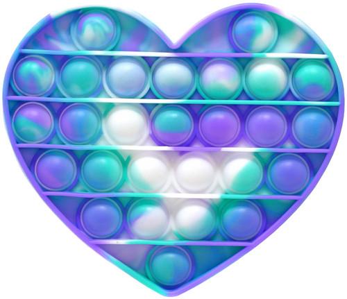 Bubble Poppers Heart Fidget Toy [Random Color]